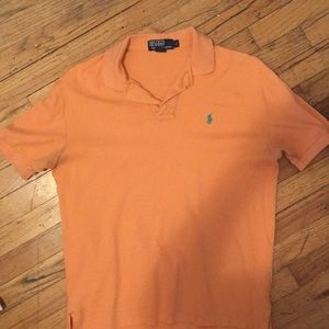 Orange Ralph Lauren Polo